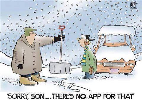 no app for that