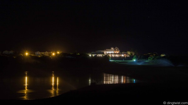 Golf Course at Night Anguilla