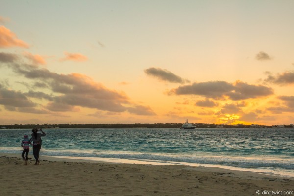 Mother & Daughter Sunrise Anguilla