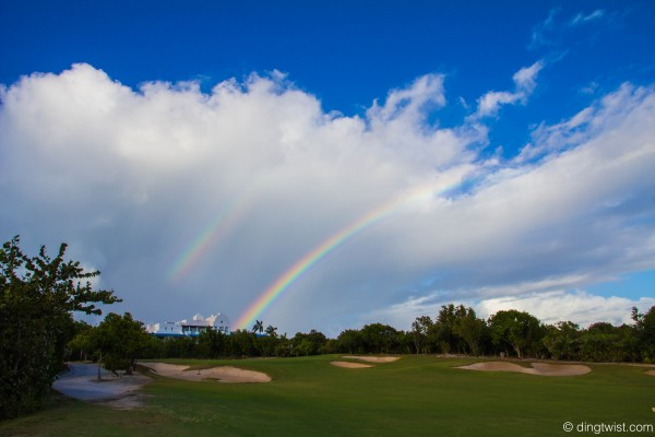 Rainbows over Cuisinart Anguilla