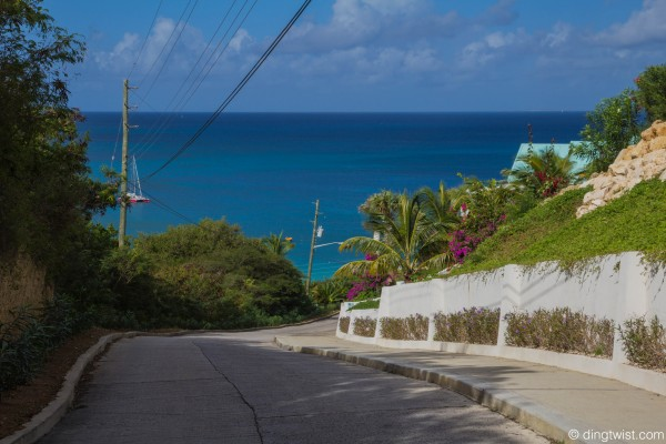 Road to DaVida Anguilla