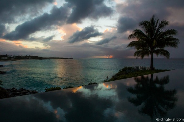 Stormy Sunset Anguilla