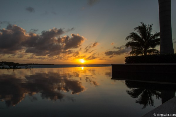 Viceroy Sunset Reflection Anguilla