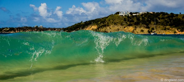 Wave Scenery Anguilla