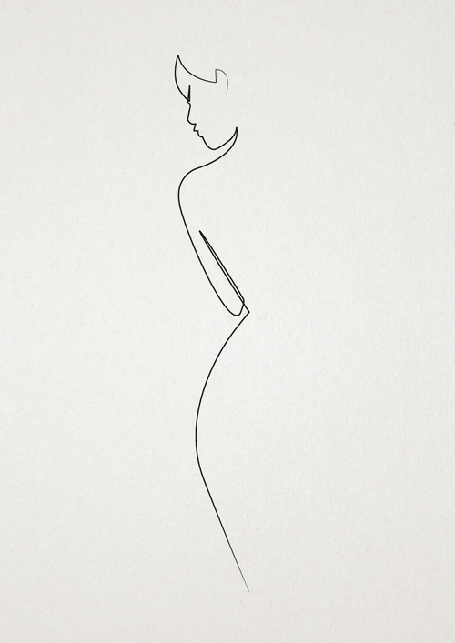 one line nude pic