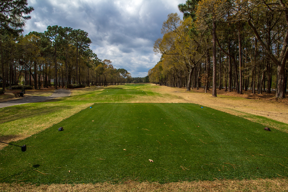 A golf course in Myrtle Beach, SC